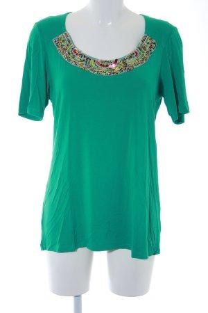 Sarah Kern T-Shirt türkis extravaganter Stil
