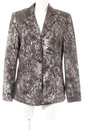 Sarah Kern Tweed blazer abstract patroon elegant