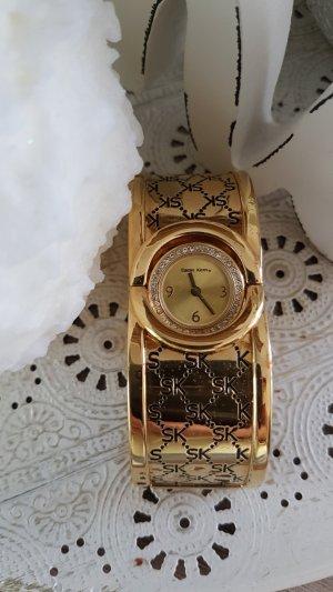 Sarah Kern Uhr mit drehbarem Uhrwerk + GRATIS Ring