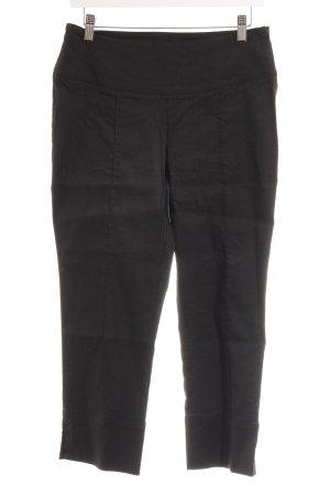 Sarah Pacini Pantalone a 7/8 nero stile casual