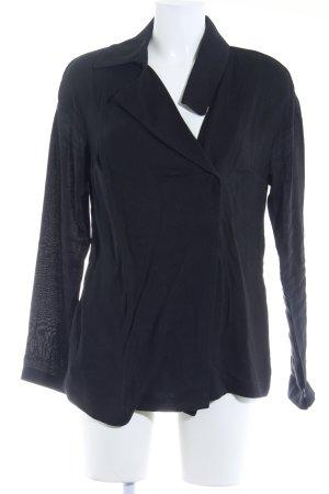 Sarah Pacini Blazer lungo nero stile casual