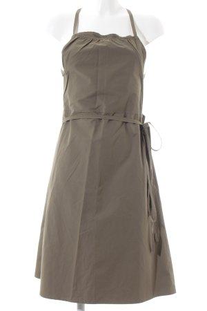 Sarah Pacini Wraparound khaki simple style