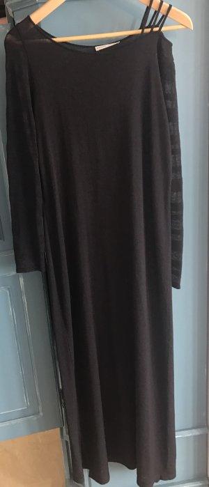 Sarah Pacini Vestido de lana negro