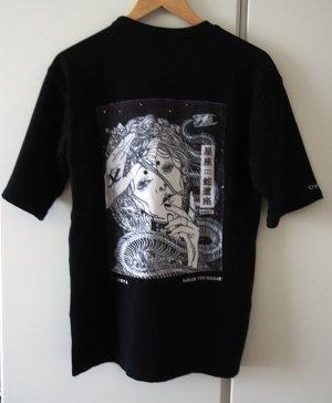 Lang shirt zwart-wit