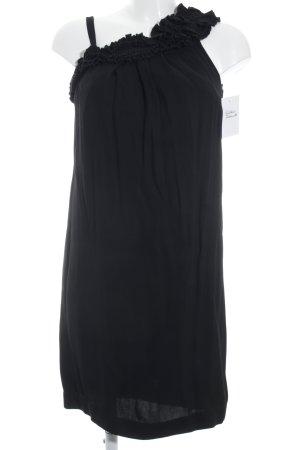 Sarar schulterfreies Kleid schwarz Elegant