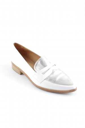Sarenza Heel Pantolettes white-silver-colored