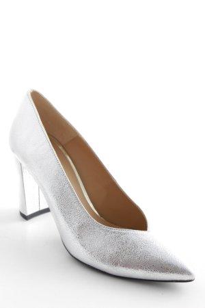Sarenza High Heels silberfarben-schwarz Elegant