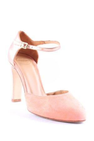Sarenza Riemchenpumps altrosa-roségoldfarben Elegant