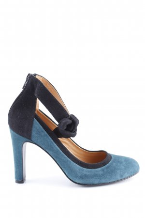 Sarenza Strapped pumps blue-black business style