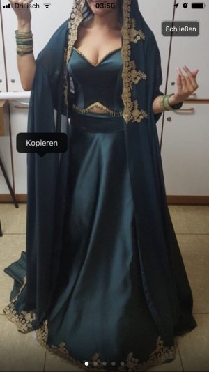 Caftan forest green
