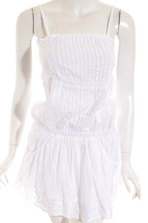 Sasch Trägerkleid weiß Beach-Look