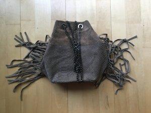 Sasha Wildleder Tasche