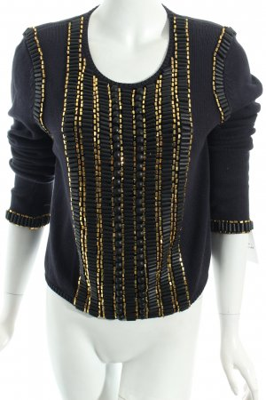 Sass & bide Pullover goldfarben-dunkelblau Casual-Look
