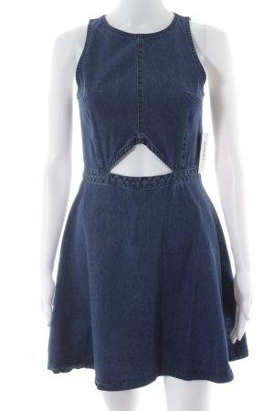 SassyClassy Jeanskleid blau minimalistischer Stil