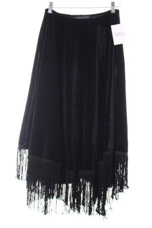 SassyClassy Poncho schwarz Gypsy-Look