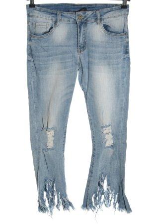 SassyClassy Slim Jeans blau Casual-Look