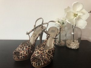 SATC High Heels in Leopard Optik