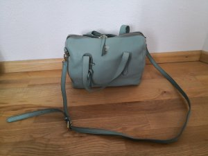 Fossil Satchel turquoise leather