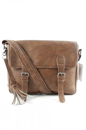 Satchel braun Casual-Look
