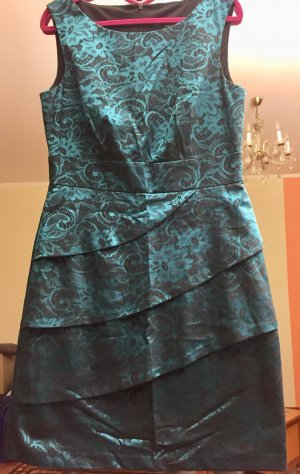 Satin Abendkleid