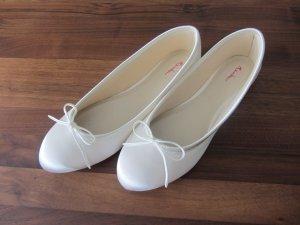 Satin Ballerinas / Brautschuhe