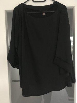 H&M Blouse brillante noir