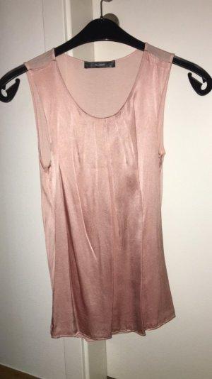 Satin Bluse in pink von Hallhuber