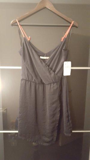 satin kleid von Zara