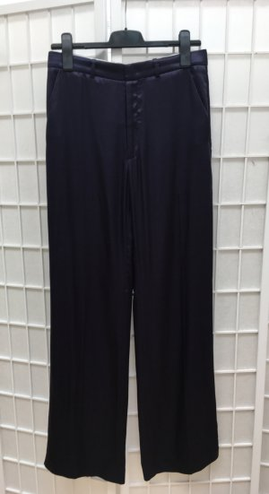 Joseph Marlene Trousers dark blue copper rayon