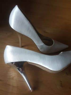 Satin Pumps