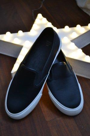 Satin Slip-On Sneaker von Mango