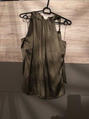 Anastacia by s.Oliver Glanzende blouse khaki