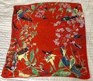 Silk Cloth red