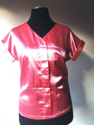 Splendor Blouse salmon mixture fibre