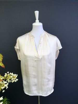H&M Conscious Collection Blouse brillante beige clair polyester