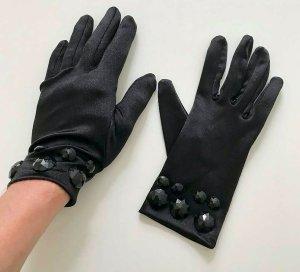 H&M Avond handschoenen zwart Polyamide