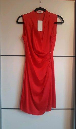 Mango Evening Dress red
