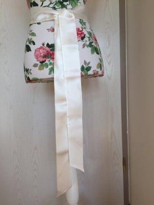 Satinschärpe / Gürtel für Brautkleid  - Farbe Ivory/Elfenbein