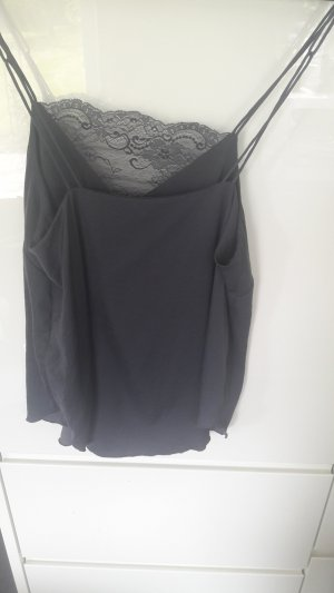 H&M Strappy Top slate-gray-blue