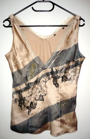 Vero Moda Haut taille empire multicolore satin