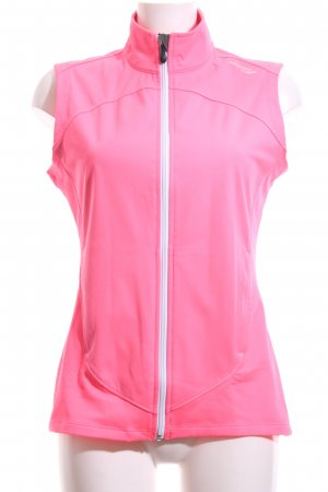 Saucony Sports Vests neon pink athletic style