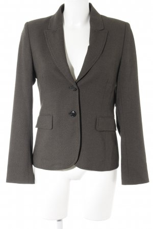 Savannah Jerseyblazer hellbraun-taupe Business-Look