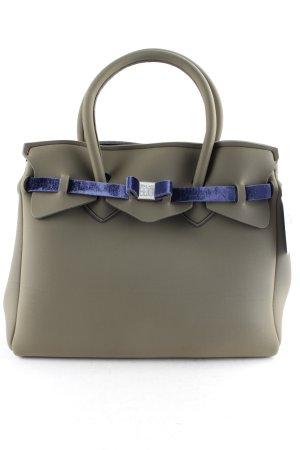Save my bag Handtasche khaki-dunkelblau extravaganter Stil
