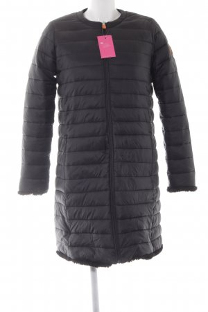 SAVE THE DUCK Wendejacke schwarz Steppmuster Casual-Look