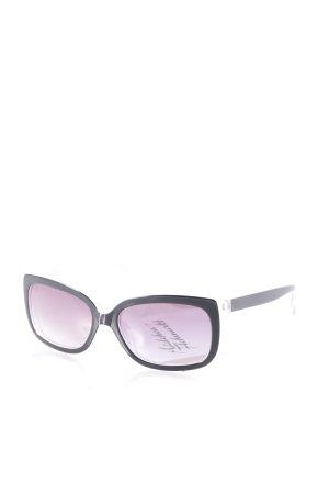 Savini Sonnenbrille schwarz-grau klassischer Stil