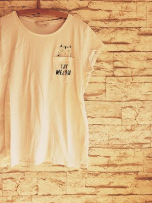 Say Meow Katze T-Shirt Cat Love