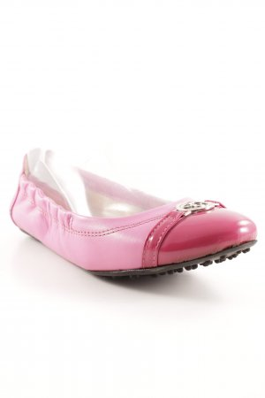 Scapa faltbare Ballerinas magenta-neonpink Casual-Look