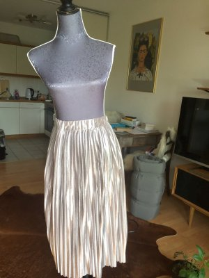 Scarlet Roos Pleated Skirt silver-colored