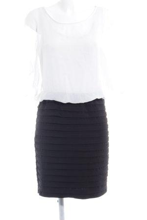 Scarlett Nite Cut-Out-Kleid schwarz-weiß Business-Look