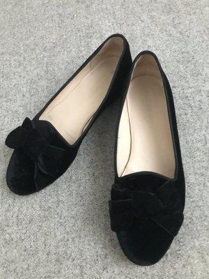 Scarosso Loafer schwarzer Samt